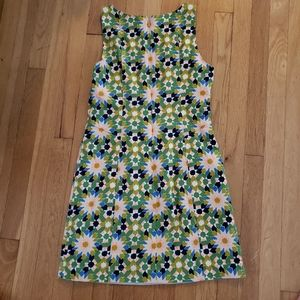 FOSSIL vibrant  lined size small dress